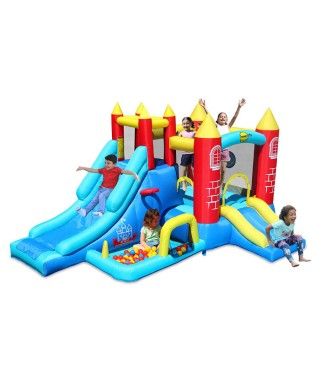 Istana Balon 8 in 1 Jumping Castle