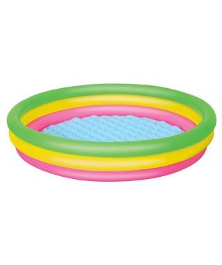 Kolam Lingkaran Pelangi Medium