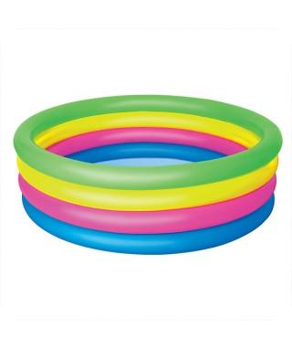 Kolam Lingkaran 4 Pelangi
