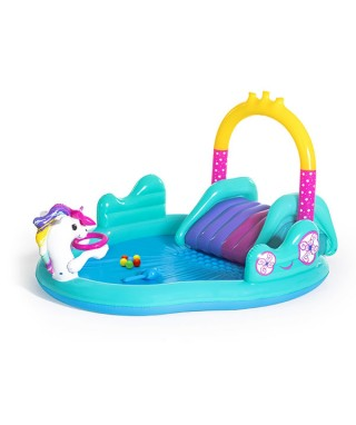 Magical Unicorn Carriage Play Center